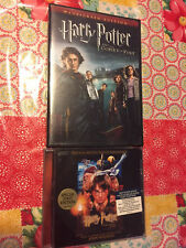 HARRY POTTER And The Sorcerers Stone Original Soundtrack CD & Goblet Of Fire DVD