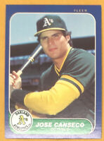 BEAUTIFUL 1986 Fleer Update #U-20 Jose Canseco RC A's Mint! Free Shipping!👀🔥⚾️