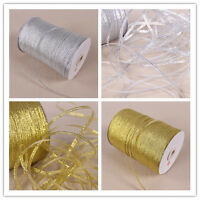 20 Yards 1/8''(3mm)Mix  Metallic Glitter ribbons Christmas packaging ribbon