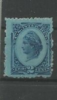 USA Mystic 1878 2 cent blue Liberty, Old Stamps Briefmarken Sellos Timbres