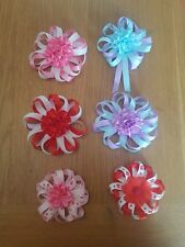 Handmade bobbles and clips all colours available £2.00 each