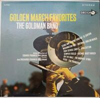 Golden March Favorites The Goldman Band Vintage Vinyl Record LP VG+ DL 74453