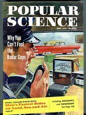 Popular Science Magazine May 1959 Radar Cops Mechanics 062317nonjhe