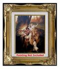 Canvas Stretching & Framing Services, Frame Style #2011-WG for Painting 8x10in