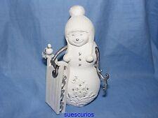 Perfectly Presented Christmas Snowman Seasons Greetings Decoration Figurine77004