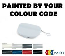 NEW MINI COOPER R56 R57 REAR BUMPER TOW HOOK EYE CAP PAINTED BY YOUR COLOUR CODE