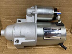 Kohler Electric Starter 25-098-24-S OEM *NEW* 25 098 24-S
