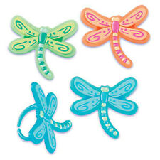 New Cake Toppers Dragonfly Cupcake Rings One Dozen
