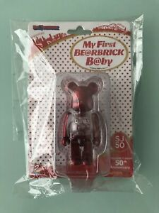 Medicom 2016 My First Be@rbrick Baby 100% Metallic Red Bearbrick SJ50 Singapore