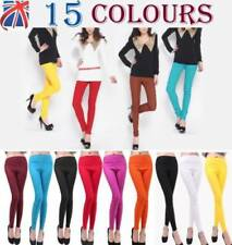 Cotton Blend High Stretch Trousers for Women