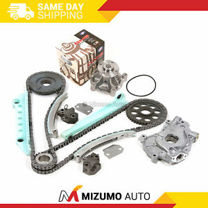 Timing Chain Kit Water Oil Pump Fit 97-02 Ford Expedition E150 F150 4.6L WINDSOR