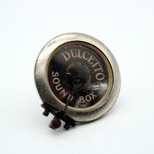 GRAMOPHONE SOUNDBOX - DULCETTO - Complete Vintage Condition