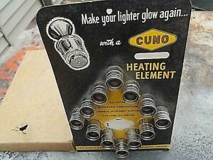 CUNO LIGHTER  ACCESSORY NOS EXCELLENT WITH 12 VOLT LIGHTER ELEMENTS DISPLAY