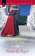 Seduced by the Heir (Harlequin Kimani RomanceThe Morretti Mi)-ExLibrary