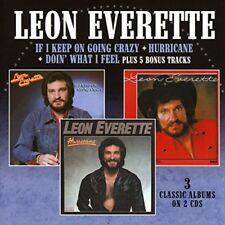 Leon Everette - If I Keep Going Crazy / Hurricane / Doin What I Feel [CD]