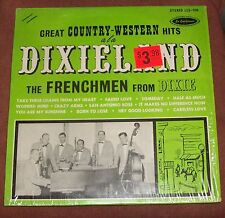 VTG COUNTRY WESTERN FRENCHMEN DIXIE DIXIELAND JAZZ NEW ORLEAN CAJUN RECORD ALBUM