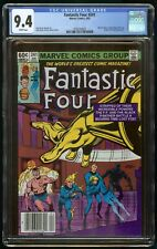 FANTASTIC FOUR #241 (1982) CGC 9.4 NEWSSTAND WHITE PAGES