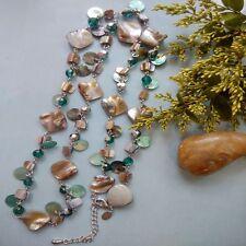 Lia Sophia OCEAN AIR necklace / shell rv98