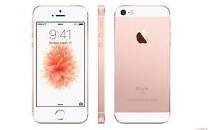 NEW ROSE GOLD VERIZON GSM/CDMA UNLOCKED APPLE 64GB IPHONE SE PHONE JT79 B
