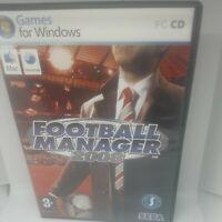 Football Manager 2008 (PC/Mac) Sega Game + Instructions