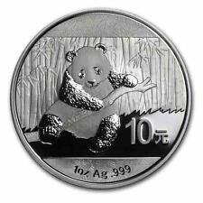 New 2014 Chinese Silver Panda 1oz Bullion Coin (Encapsulated by the Mint)