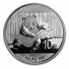 Nuevo 2014 Chinese Plata Panda 1oz moneda del lingote (encapsulada por The Mint)