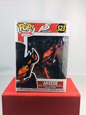 Funko Pop! Games: Persona 5- Arsene #523 Vinyl Figure Atlus