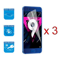 For Huawei Honor 9 STF-L09 Screen Protector Cover Guard LCD Film Foil x 3