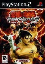Tekken 5  - Console Playstation 2 PS2, Jeu vendu en loose