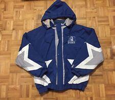 Duke Blue Devils Starter Size Large Full Zip Jacket