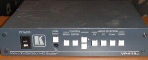 KRAMER VP-419XL DIGITAL SCALER VIDEO TO COMPUTER GRAPHIC VIDEO HDTV PROSCALER