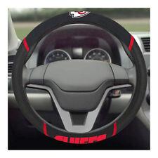 Brand New NFL Kansas City Chiefs Black Mesh Extra Grip Steering Wheel Cover