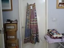 Magazine Femmes Imprimé Floral Bandeau 100% Coton Robe Longue Sz Large