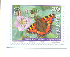 Isle of Man- Butterfly one value self-adhesive mnh