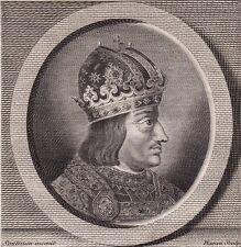 Portrait XVIIIe Albert II d'Autriche Albrecht II Österreich Austria Habsburg