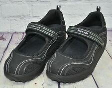 SKECHERS SHAPE-UPS Womens Comfort Mary Jane Wedge Walking Shoes Size 10