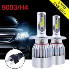 9003 H4 LED Headlight Bulbs Replacement Kit For Toyota Tacoma Yaris RAV4 Tundra