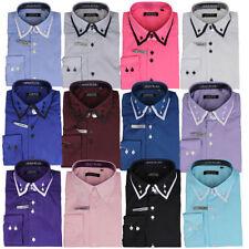 Camisas y polos de hombre de manga larga de algodón y poliéster