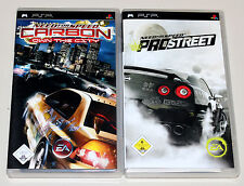 2 GIOCHI PSP Bundle-Need for Speed Pro Street & CARBON OWN THE CITY