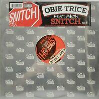 Obie Trice feat. Akon Snitch 2003 Rare Promo Vinyl LP Shady Records