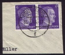 Handstamped Military, War Used German & Colonies Stamps