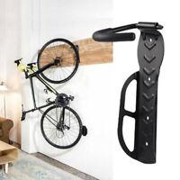 Bike Bicycle Cycling Storage Wall Mounted Mount Hook Rack Holder Hanger YK
