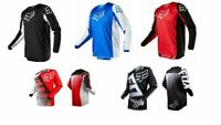 2020 Fox Racing Jersey Shirt Men's Motocross/MX/ATV/BMX/MTB Cycling Bike Tops US