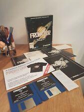 Vintage en caja Commodore Amiga juego frontera Elite 2 completa con todos los componentes
