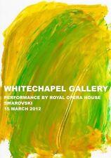 HOWARD HODGKIN 'Art Plus Opera', 2012 Poster UK Museum Fundraising Event **NEW**