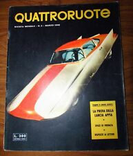 Quattroruote Marzo 1956 N. 2 originale