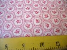 Andover Fabrics Pink Flowers Dots Paisley Jo's Best Friends on Cream 4 Quilts