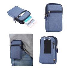 per SAMSUNG GALAXY S8 ACTIVE Custodia Universale Blu Multiuso