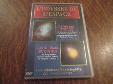 dvd l'odyssee de l'espace la vie des etoiles & les enigmes du cosmos