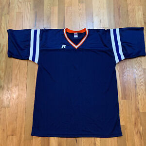 Vintage Russell Athletic Bears / Auburn Colors Football Jersey Size Large L USA